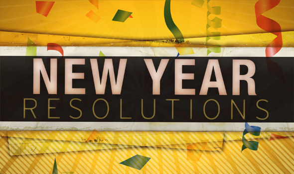 New Year Resolutions (Part 1)