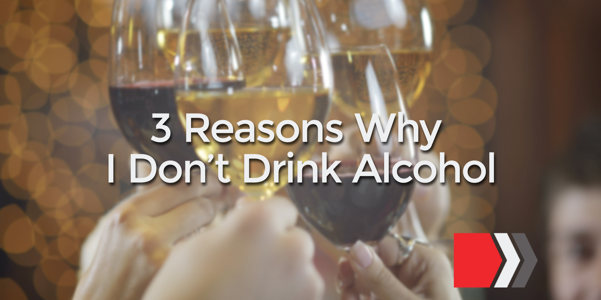 an essay on the reason why i drink The risk of binge drinking and ultimately death is a key reason why the drinking age should be lowered when drinking is legal, it is done out in the open and can be surveyed by the police however, when the drinking age was raised it simply moved drinking underground.
