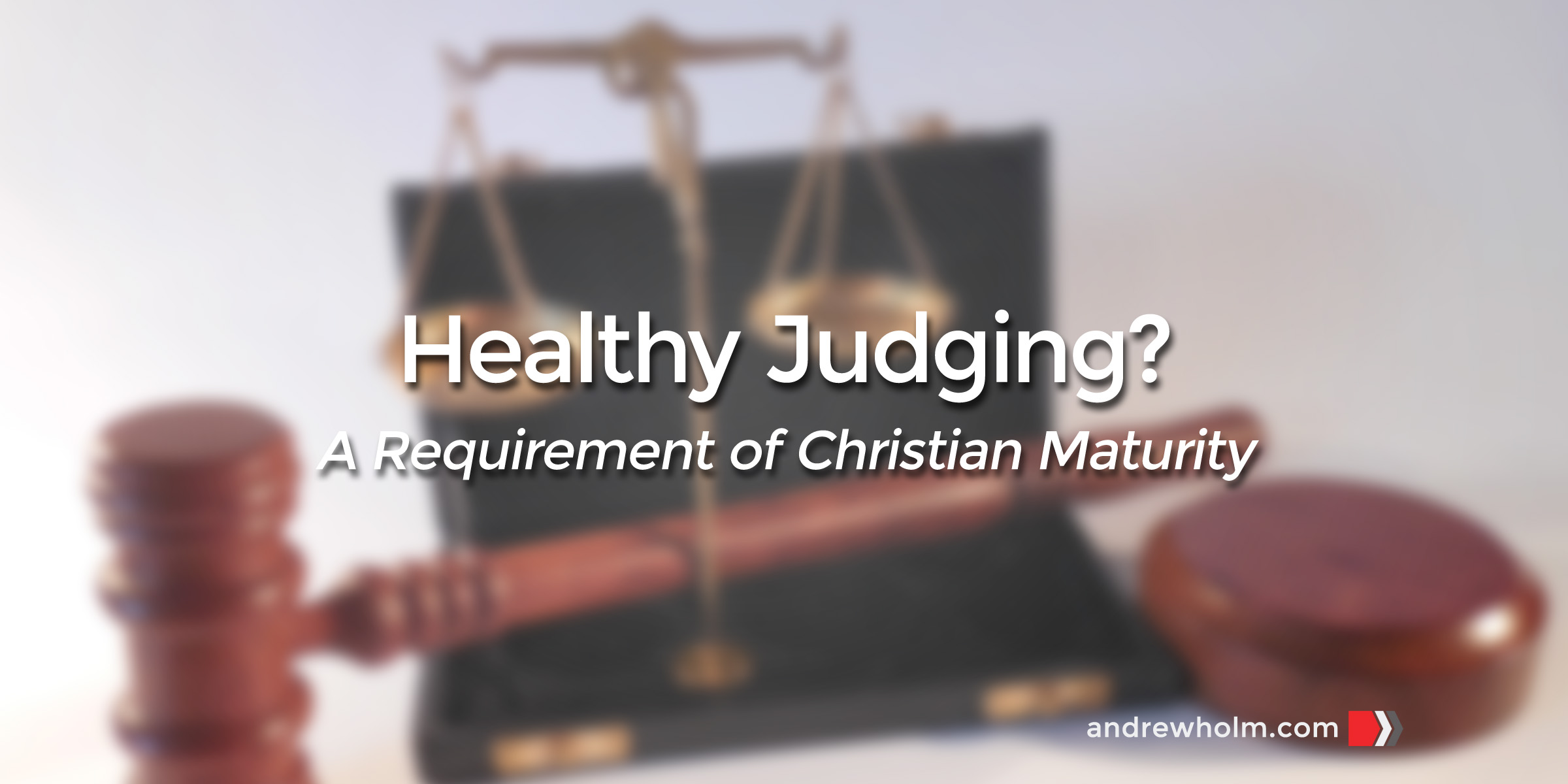 Healthy Judging?