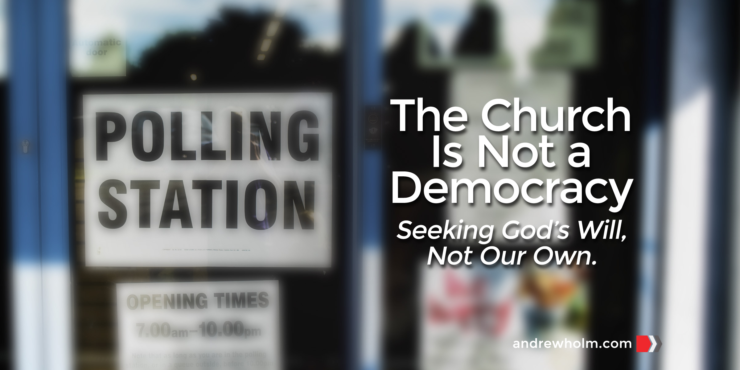 The Church Is Not a Democracy