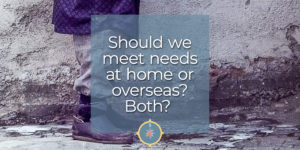 Meeting needs at home or away - make an impact