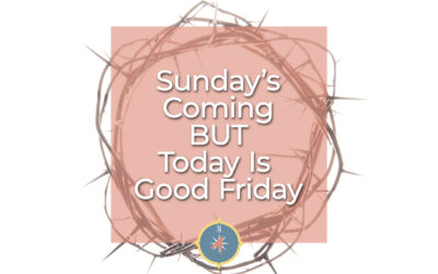 Sunday's Coming BUT Today is Good Friday