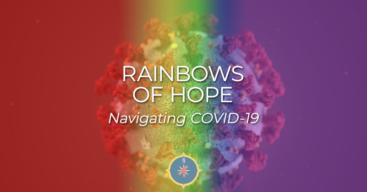 Rainbows of HOPE & COVID-19The Journey Holm - Christian ...